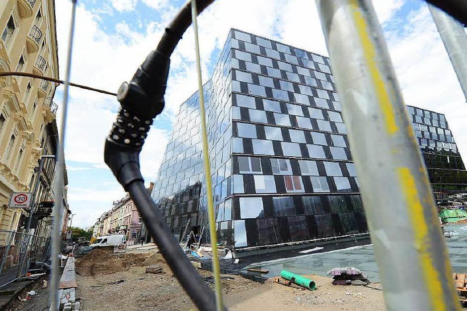 Die neue Unibibliothek (Foto: Rita Eggstein)