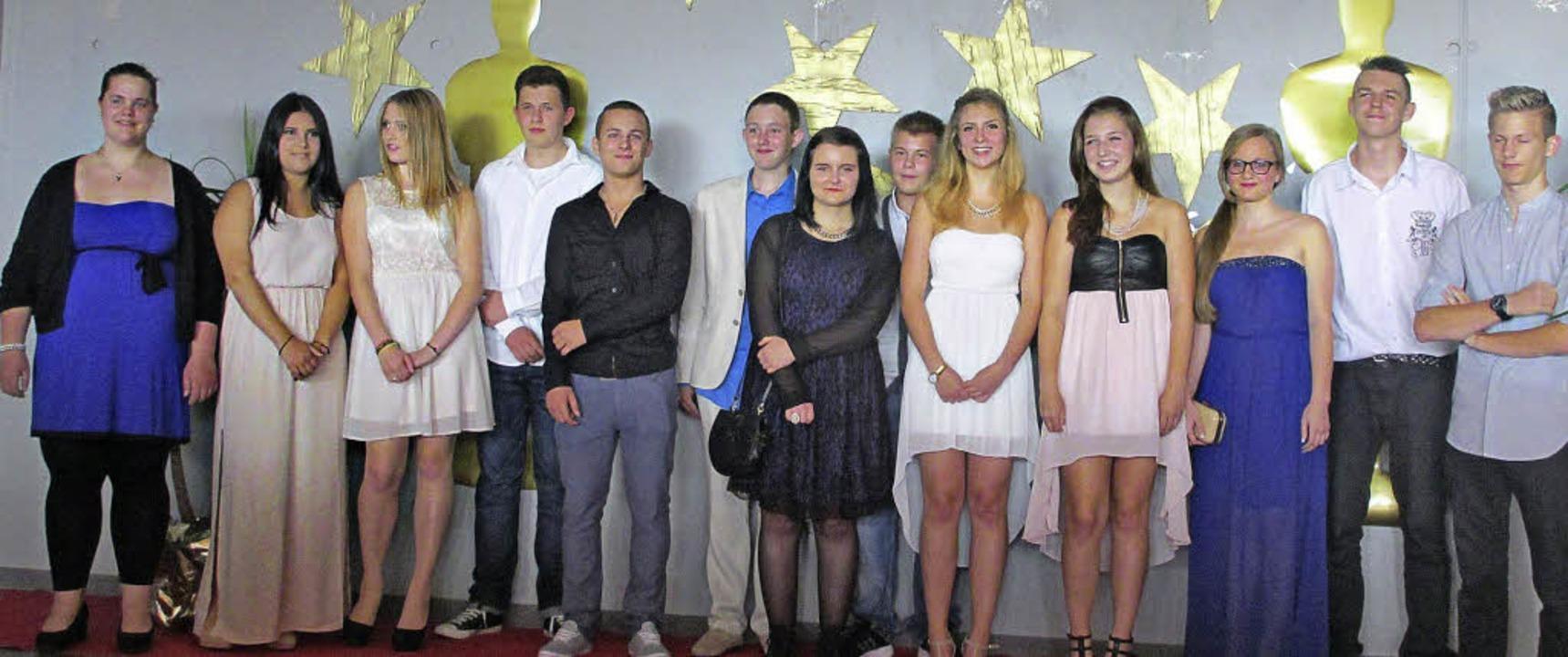 Die Alemannenschule Hartheim verabschi...sich von 13 Schülerinnen und Schülern.  | Foto: privat
