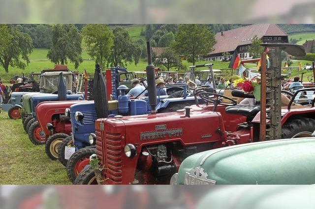Traktorfans kamen ins Schwärmen