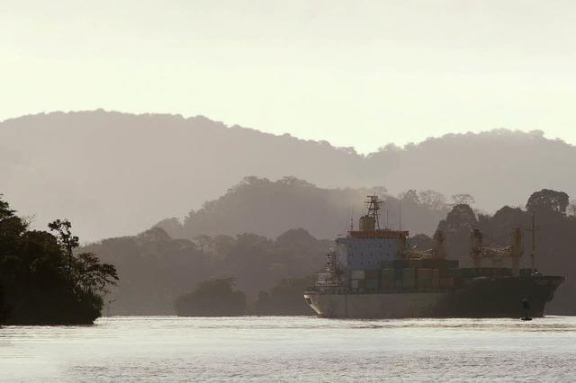 Ein Tag im Panama-Kanal