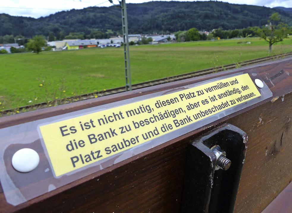 Eine Bitte, die eigentlich Selbstverst...– doch dem ist leider nicht so.   | Foto: Sebastian probst