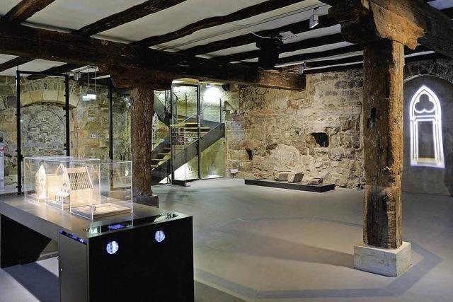 Der Schatz von der Bausteller der Alten Synagoge in Erfurt
