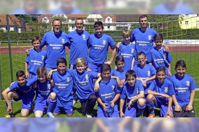 Aufstieg in höchste D-Junioren-Klasse
