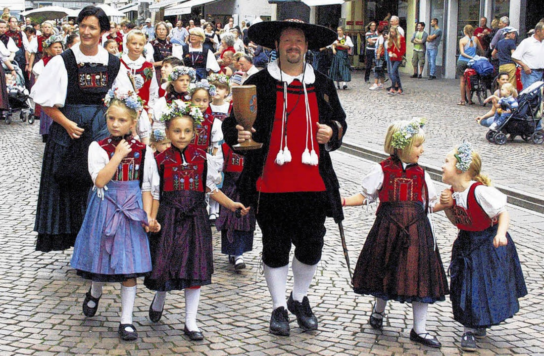 Festumzug: Die Waldshuter Kinder sind mit dabei.   | Foto: Ebner