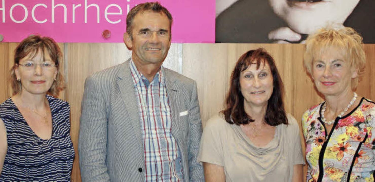 Anita Säuberli, Helmar Burkhart, Micha...e positive Resonanz auf die Angebote.   | Foto: Gerd Leutenecker