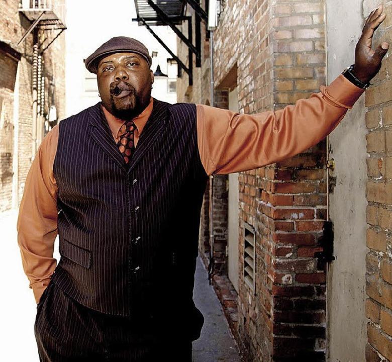 Sugaray Rayford, einer neuer Name im Blues     Foto: ZVG