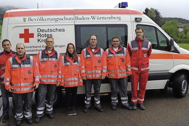 DRK Ortsverein Elzach übernimmt Rettungsfahrzeug