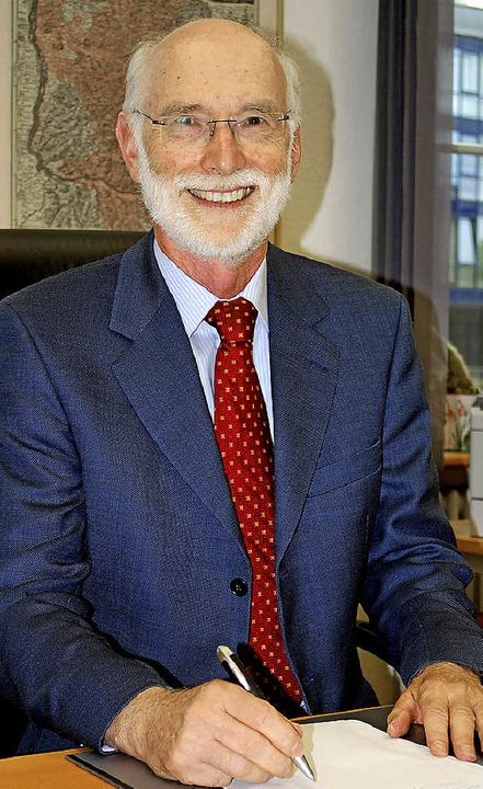 Familienrichter Reinhard Fehrenbach geht in den Ruhestand.    Foto: Thomas Loisl Mink