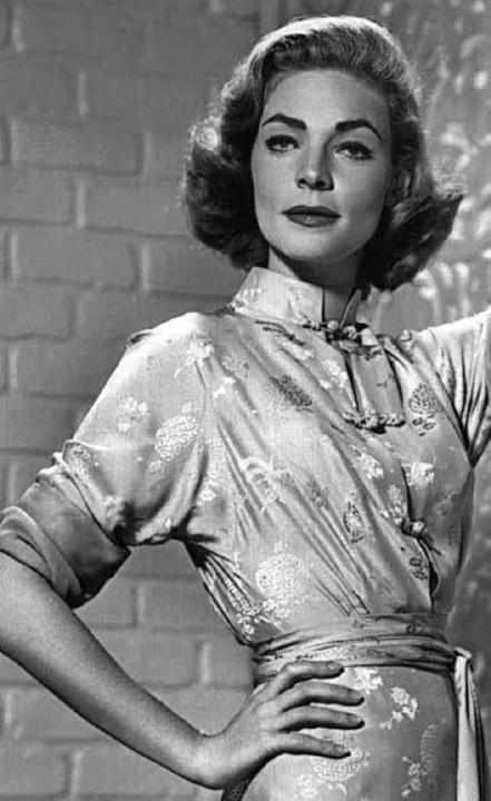 Lauren Bacall (1957)     Foto: dpa