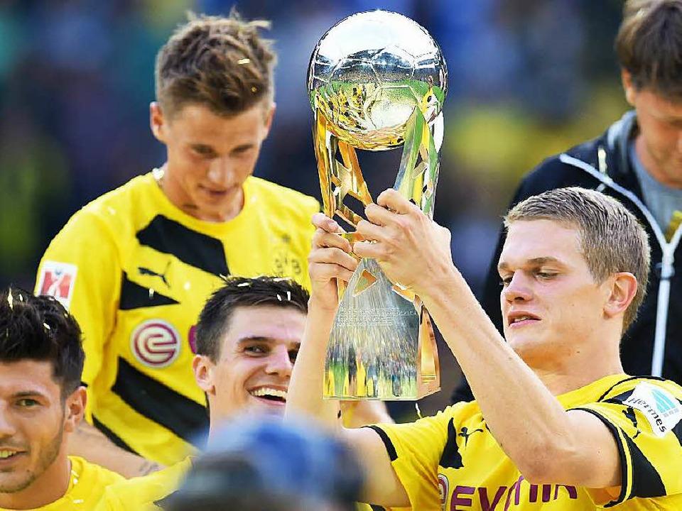 Weltmeister und Supercup-Gewinner Matthias Ginter  | Foto: AFP