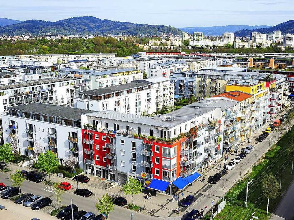 Das Rieselfeld wurde vom Immobilienmarkt schon vollständig aufgenommen.  | Foto: Thomas Kunz