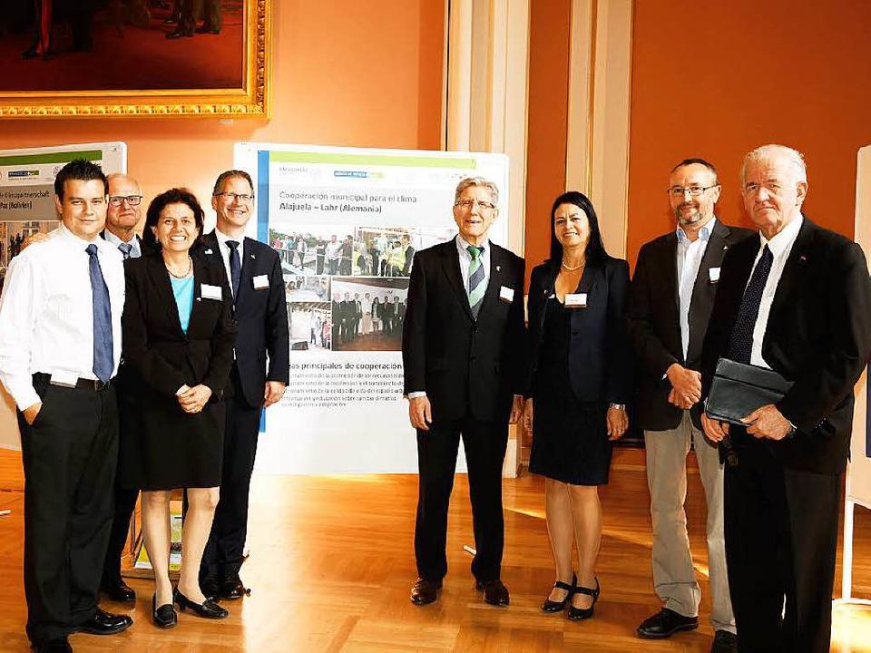 Vertreter aus Lahr und Alajuela beim Workshop in Berlin  | Foto: BZ