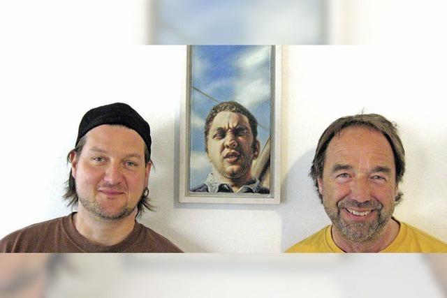 Letzter Tag: Zeichnungen von Torsten M. Lehman in Hüfingen