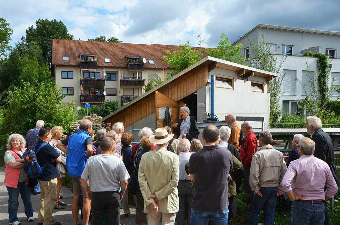 Am Ahornweg befindet sich das Kraftwerk mit den beiden archimedischen Schnecken.  | Foto: Sylvia-Karina  Jahn