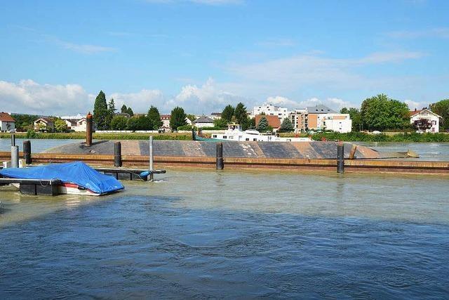 Gekentertes Schiff bei Basel wird nächste Woche aufgerichtet – Schwierige Bergung