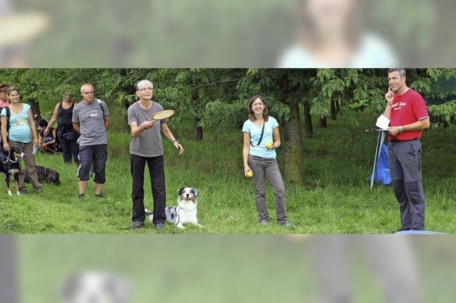 Spaß für Hund und Mensch