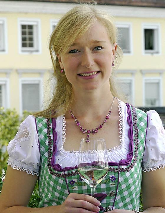 Die neue Weinprinzessin Isabelle Vetter   | Foto: P. Müller
