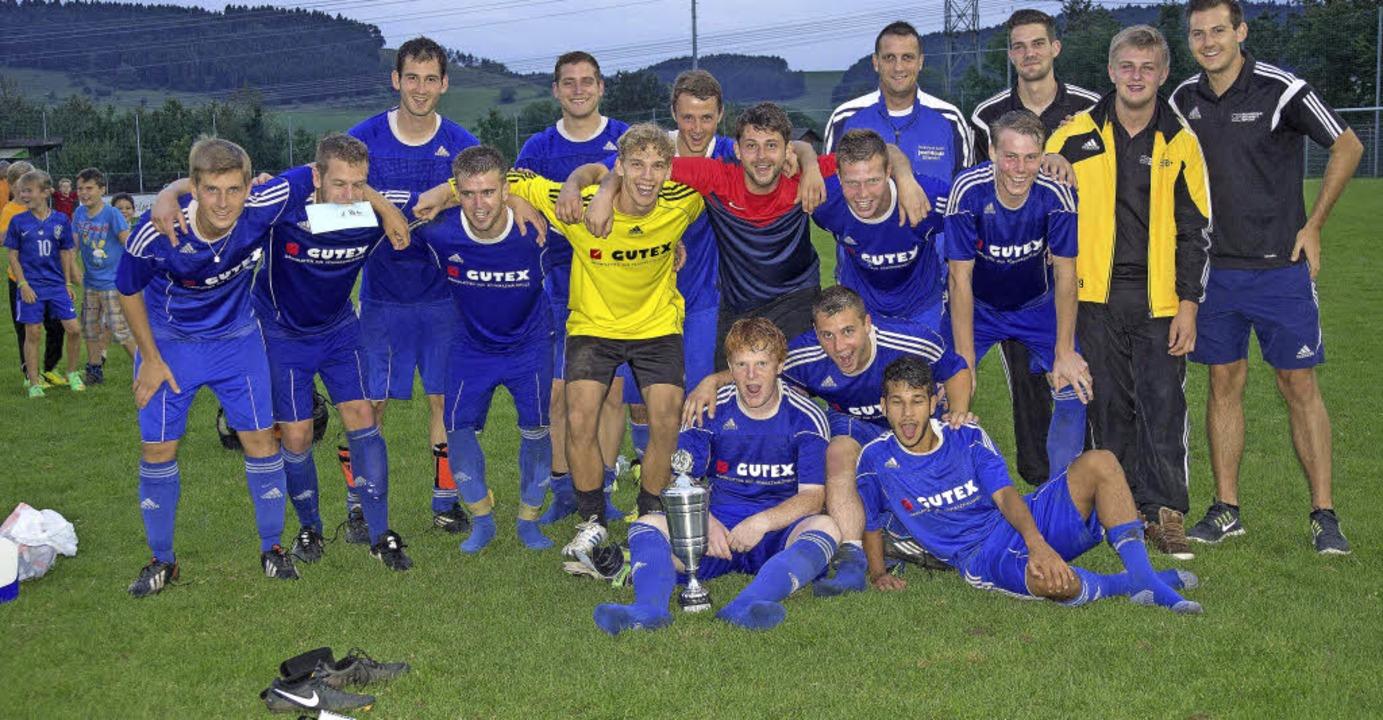 Das Team FC Schlüchttal hat allen Grun...gen/Krenkingen mit 4:1 Toren gewinnen.  | Foto: Dieckmann