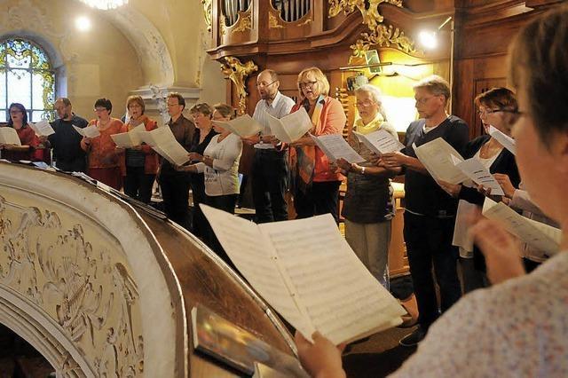 Himmlische Stimmen zur Kräuterweihe