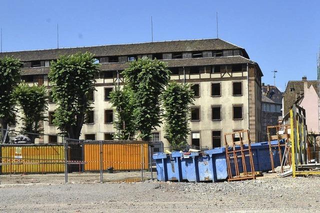 Straßburg baut für die Universität