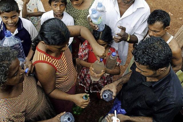 HINTERGRUND: Trinkwasser für Tsunami-Opfer