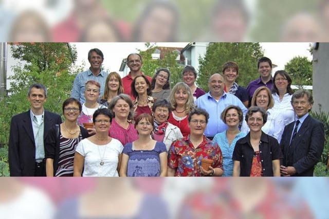 In neun Monaten viel gelernt fürs kirchliche Ehrenamt