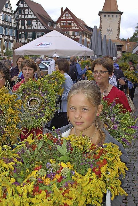 kräuterbüschel gengenbach  | Foto: Röderer Hubert