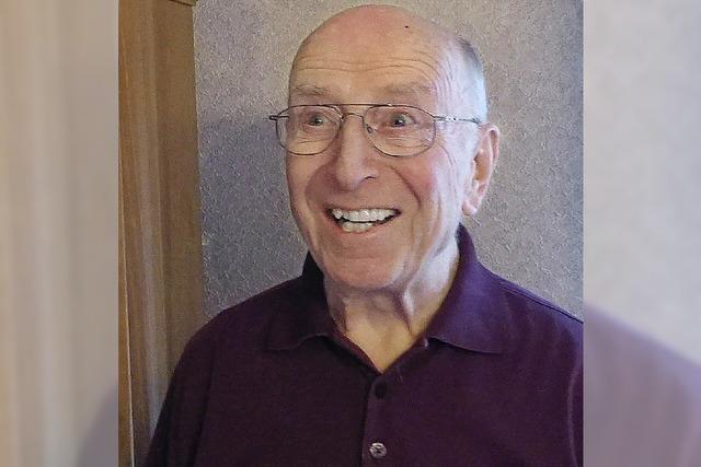 Otto Voigt ist 85 Jahre alt