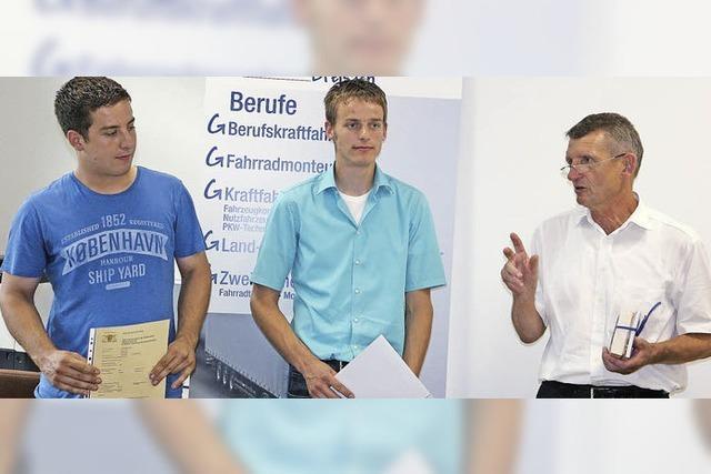 Dreifache Ernte für Jungmeister aus Breisach