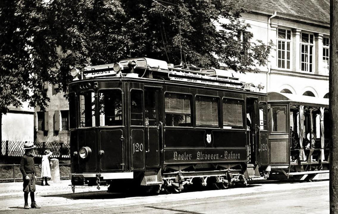 Tram in Riehen    | Foto: Sammlung J. Wenk-Madoery/