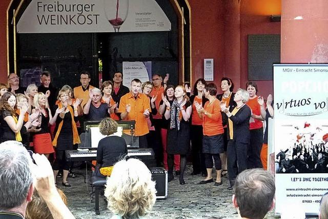 Virtuos Voices gaben ein Popkonzert in Freiburg