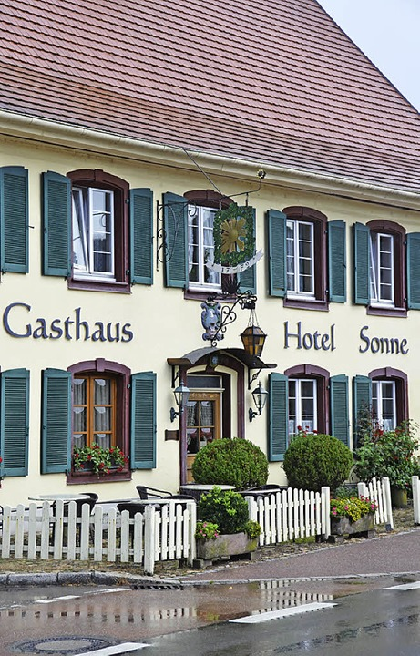 Das Gasthaus  Sonne    | Foto: Behrendt
