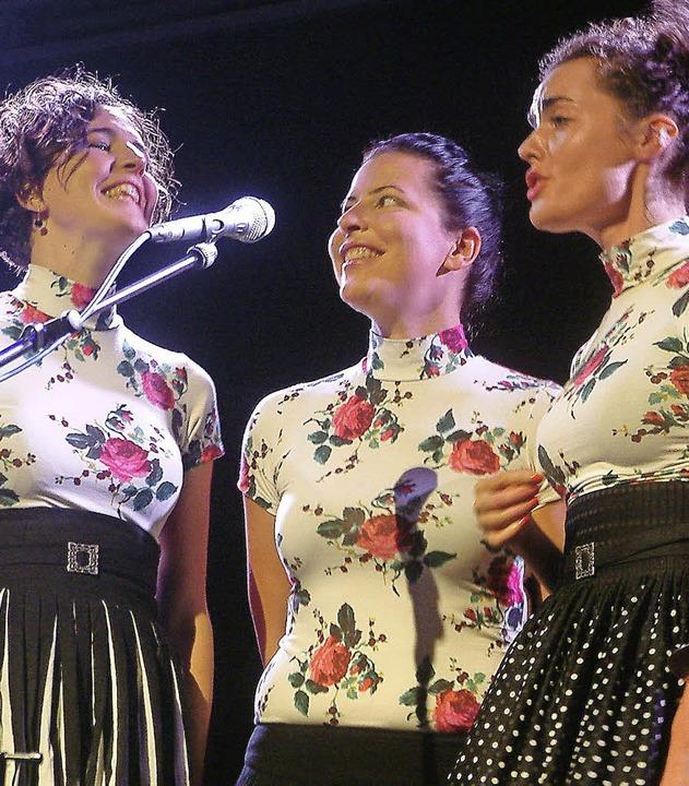 Zauberhafte Pop-Folk-Sirenen:  Ganes bei den Laufenburger Kulturtagen   | Foto: Roswitha Frey