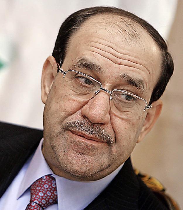 Nuri al-Maliki   | Foto: AFP