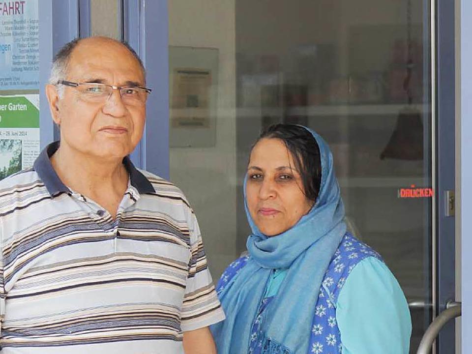 Shahlah und Mir Azizullah Hares     Foto: M. Fritsch