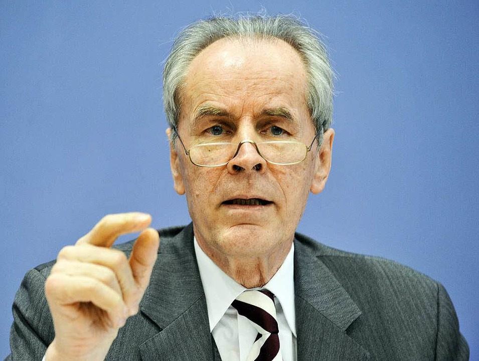 Kriminologe Christian Pfeiffer  | Foto: AFP