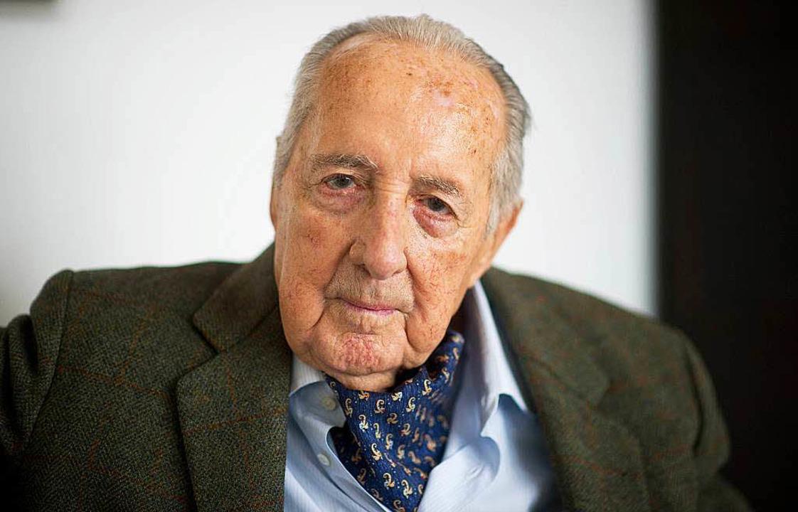 Im Alter von 90 Jahren gestorben: Peter Scholl-Latour.  | Foto: dpa