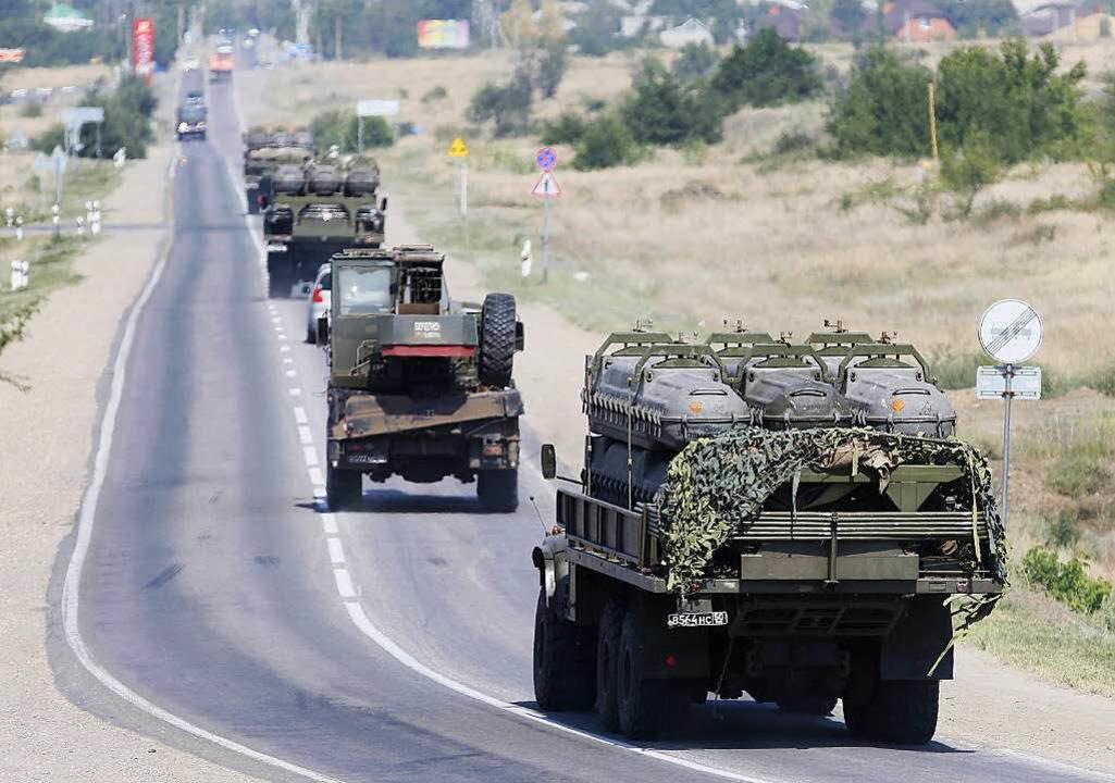 Bisher bestritt die russische Regierung eine direkte Beteiligung am Konflikt.  | Foto: dpa