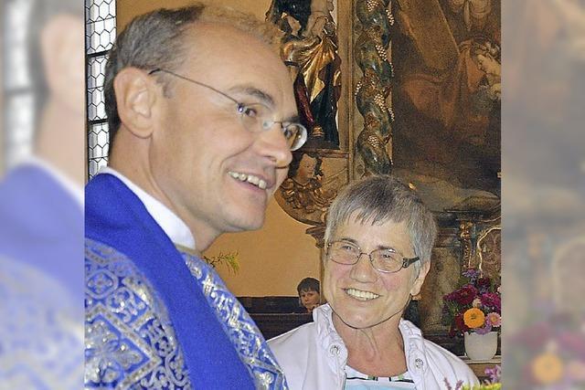 Kräuterduft erfüllt Kapelle
