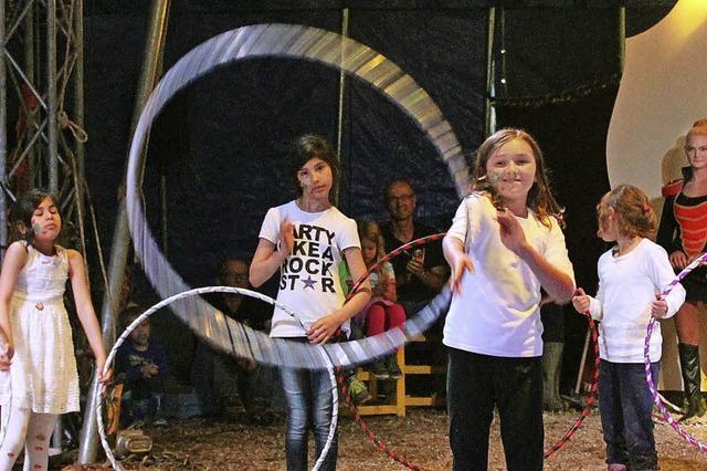 Kinder machen ganz schön Zirkus