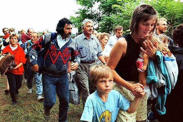 Als ein Picknick in Ungarn den Eisernen Vorgang durchbrach