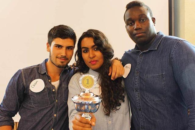 Lörracher Schüler gewinnen Debattierwettbewerb