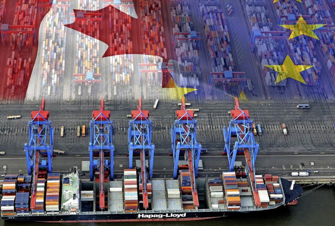 Das Freihandelsabkommen zwischen der EU und Kanada soll den Handel stärken.   | Foto: typomaniac (Fotolia)/dpa