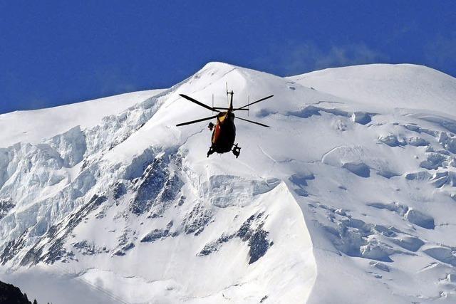 Diesen Sommer sind am Mont-Blanc bereits 20 Menschen gestorben