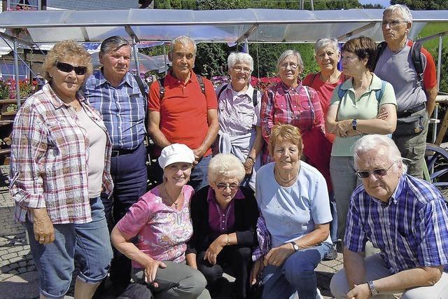 TREFFPUNKT STADTMÜHLE: Der Seniorentreff ist regelmäßig in Bewegung