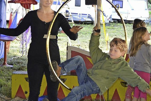 25 junge Artisten geben heute ihr Zirkusdebut