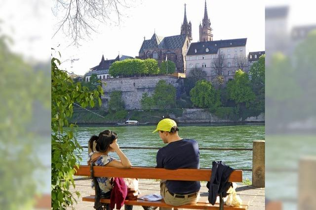 Den Jugendlichen gefällt es in ihrem Basel gut