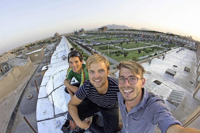Drei Freiburger Studenten drehen Film in der Partnerstadt Isfahan