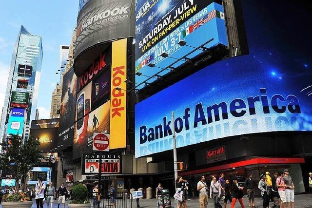 Bank of America muss Rekordstrafe zahlen