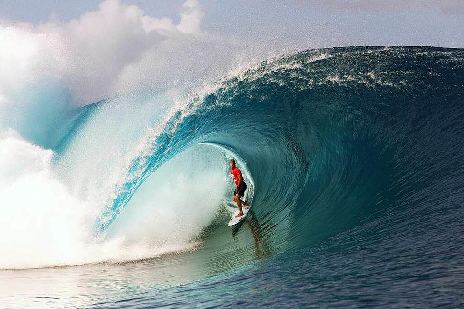 Der dreifache Surf-Weltmeister Mick Fanning aus Australien (Foto: AFP)